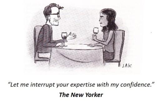 Confidence vs Expertise