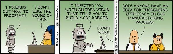 Dilbert Robot