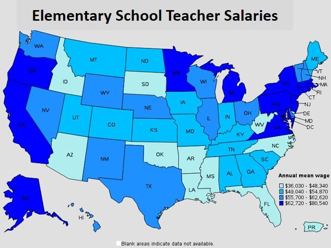 Teach Salary